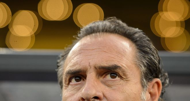 Cesare Prandelli: The head coach believes Mario Balotelli is still maturing