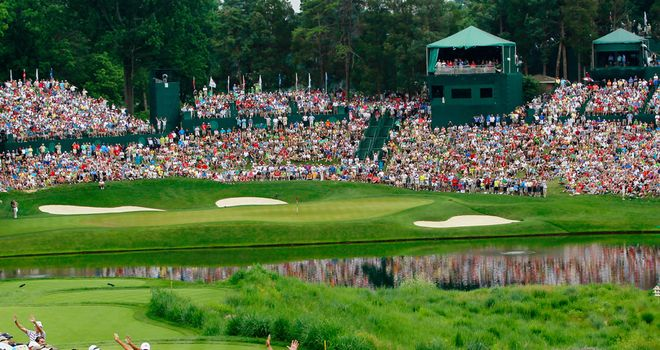 Congressional:  a par 71 measuring 7,569 yards
