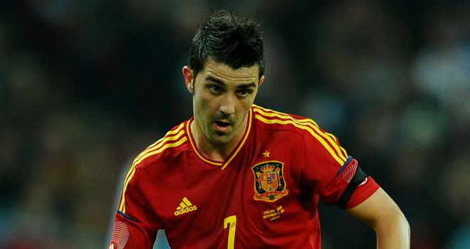 David Villa: At the double against El Salvador