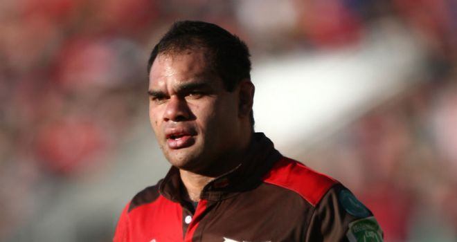 Deacon Manu: Will retain the captaincy for Fiji against England on Saturday