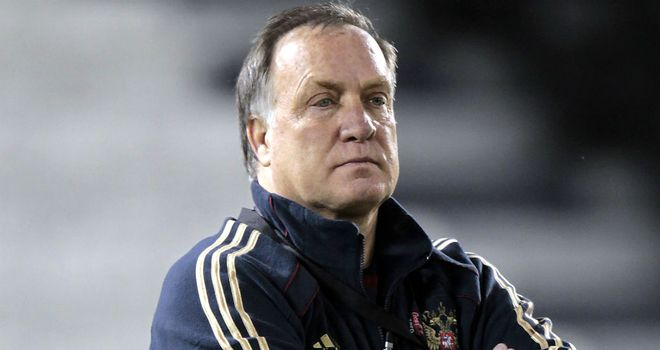 Dick Advocaat: Thinks his Russia side need to do better in front of goal after opening day win