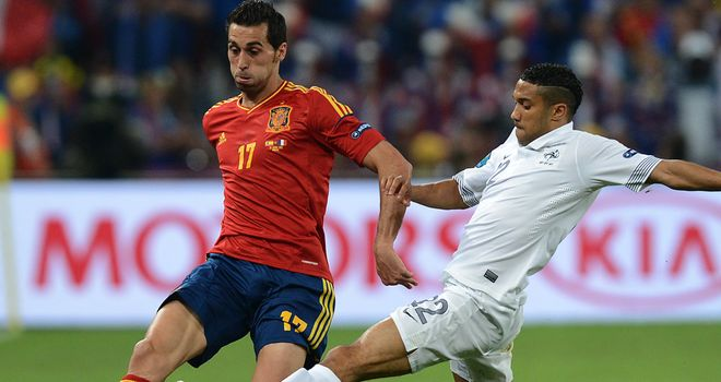 Alvaro Arbeloa: The Real Madrid defender says Spain are confident ahead of their Euro 2012 semi-final showdown against Portugal