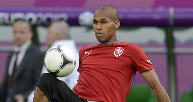Theodor Gebre Selassie: Put in a fine performance for the Czech Republic against Greece