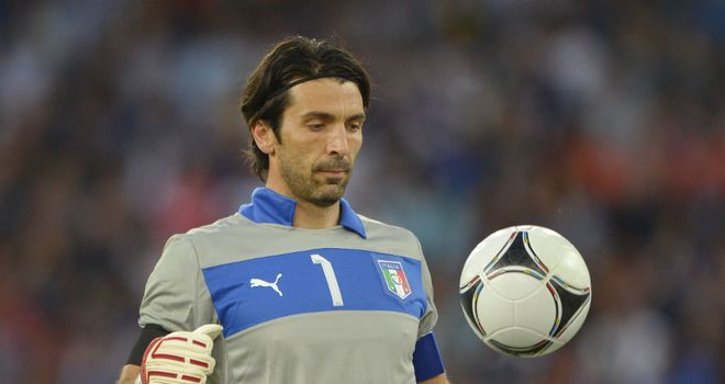 Gianluigi Buffon: Italy keeper hopes to play against Denmark after an injury worry