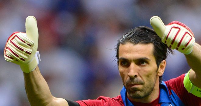 Gianluigi Buffon: Goalkeeper out of Italy¿s clash with Denmark in Milan with injury