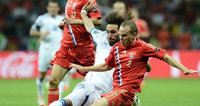 Russia crashed out of Euro 2012 following a shock defeat against Greece
