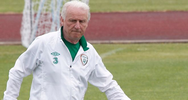 Giovanni Trapattoni: Feels his players are in good spirits ahead of Croatia clash