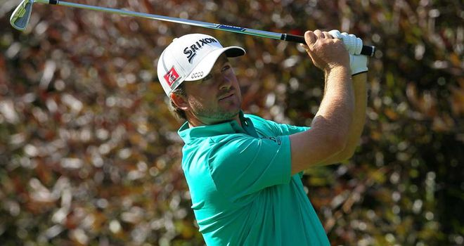 Graeme McDowell: The 2010 champ is up there again