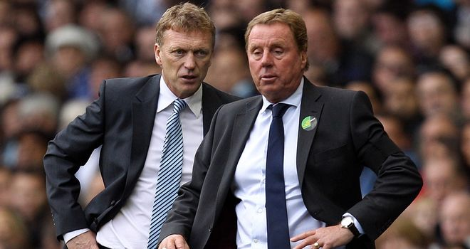 David Moyes: Everton manager insists he has not been approached by Spurs