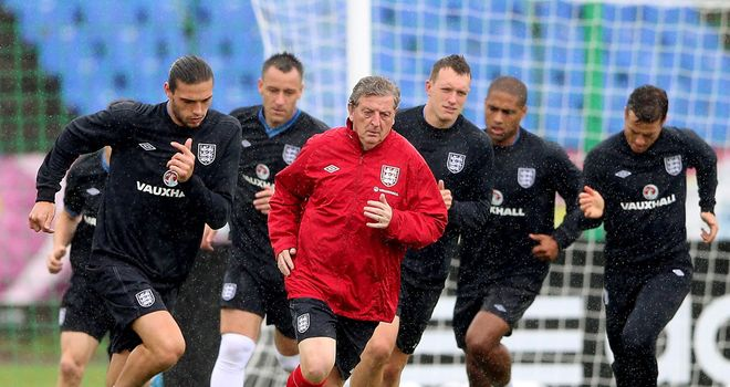 Roy Hodgson: Enjoying the privilege of leading the way for England this summer