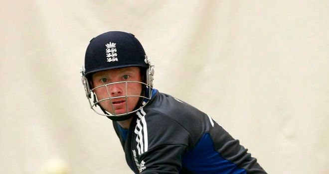 Ian Bell: Injured in the nets