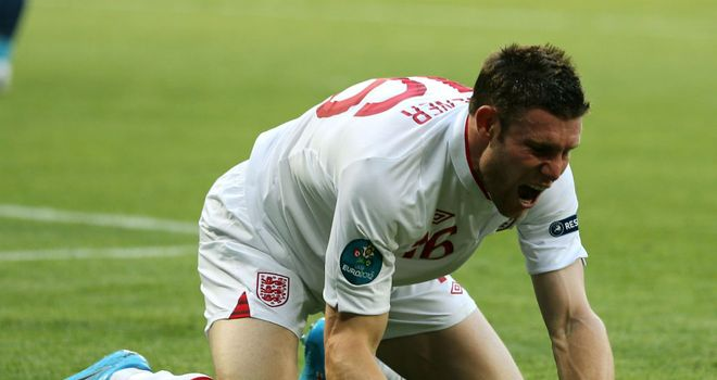 James Milner: Says England are improving all the time under Roy Hodgson