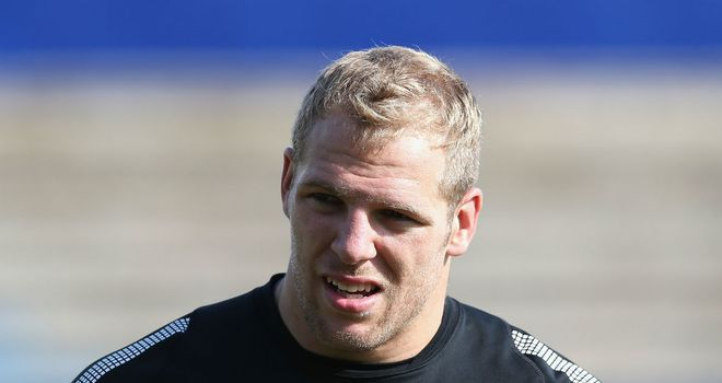 James Haskell: Aims to make the most of his chance this weekend