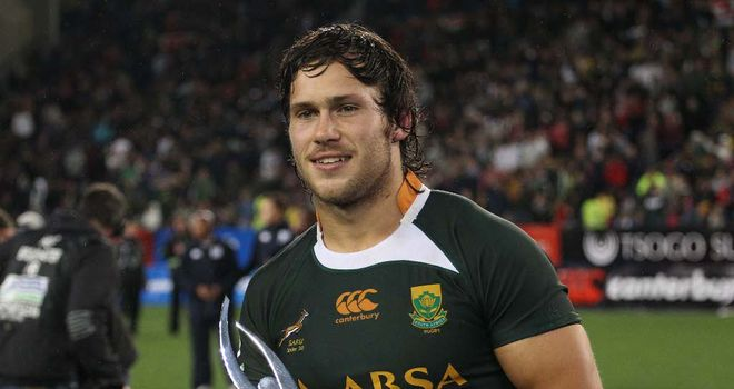 Jan Serfontein: Was the player of the tournament at the JWC