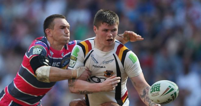 John Bateman: Bradford's highly-rated young forward