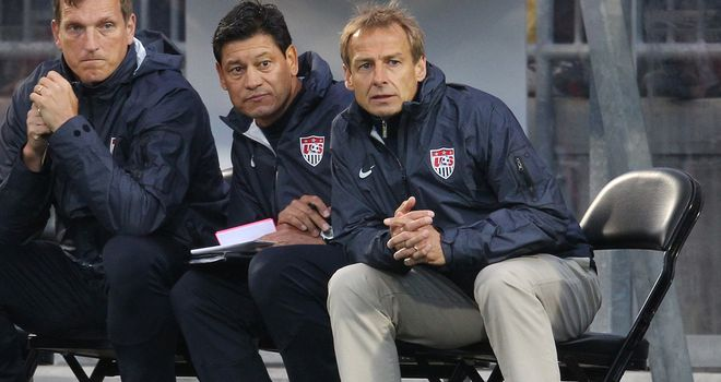 Jurgen Klinsmann: Takes positives as his side lose 4-2 to Belgium