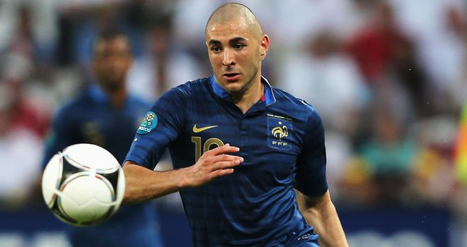 Karim Benzema: Struggling with a knee injury