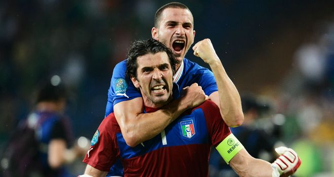Gianluigi Buffon: Readying himself for a quarter-final showdown with England