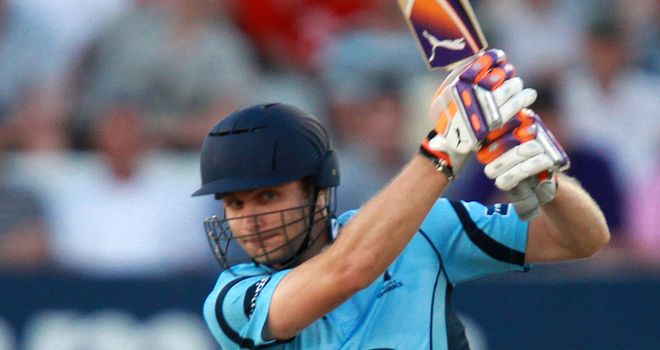 Luke Wright: second limited-over century of the summer