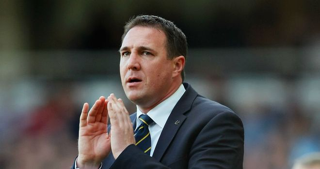 Malky Mackay: Happy with his side's character in the draw at Derby