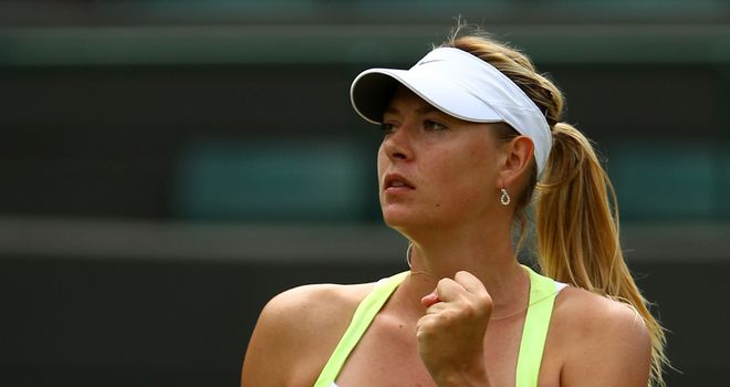 Maria Sharapova: Hard fought victory against Pironkova