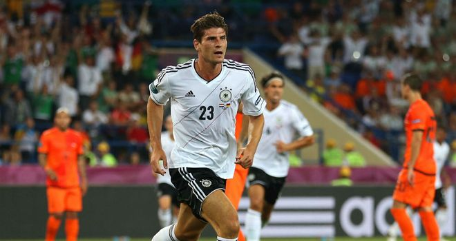 Mario Gomez: 4/1 to open the scoring against Denmark