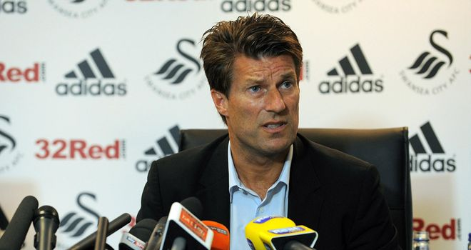 Michael Laudrup: Looking forward to working in the Premier League with Swansea