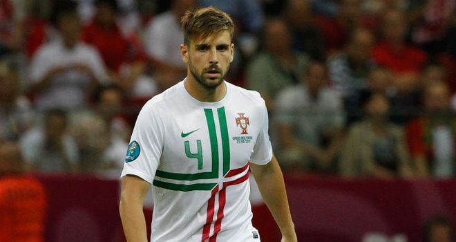 Miguel Veloso: Genoa midfielder is at the heart of the Portugal team at Euro 2012