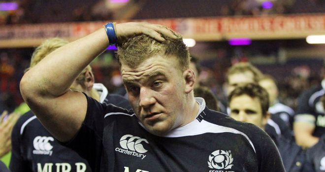 Moray Low: Injured playing for Glasgow Warriors