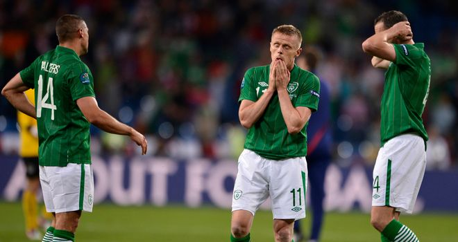 Opening defeat: Carsley feels Ireland were lacking a Plan B against Croatia