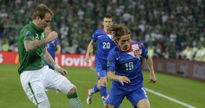 Luka Modric: Ran the show for Croatia in their 3-1 win over the Republic of Ireland