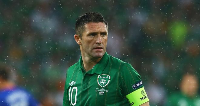 Robbie Keane: The striker may be asked to drop a little deeper against Spain