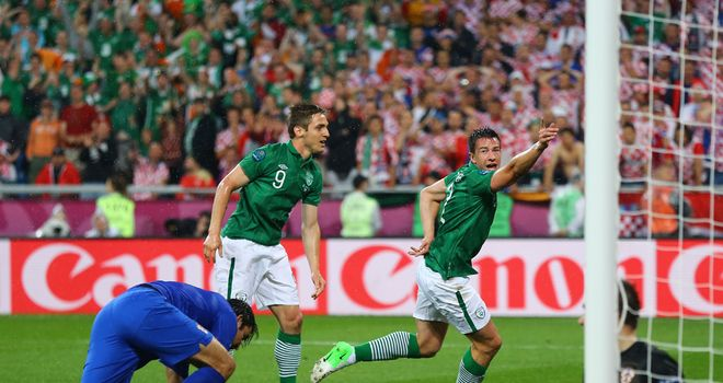 Sean St Ledger was left disappointed despite scoring Ireland's equaliser