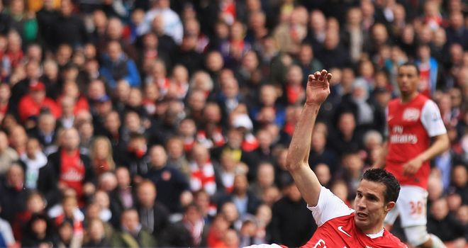 Robin van Persie: Arsenal captain will stay at the club, according to manager Arsene Wenger