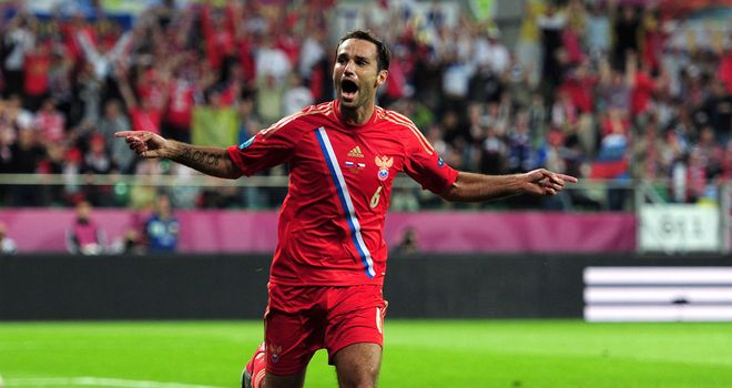 Roman Shirokov: Scored a late winner from the spot to the relief of Russia