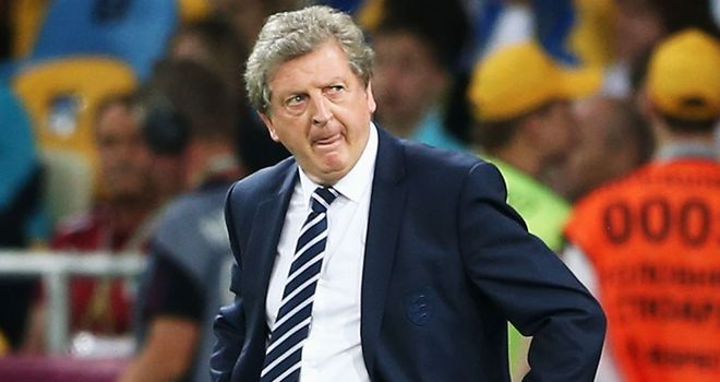 Roy Hodgson: Looking to youth for friendly against Italy on Wednesday