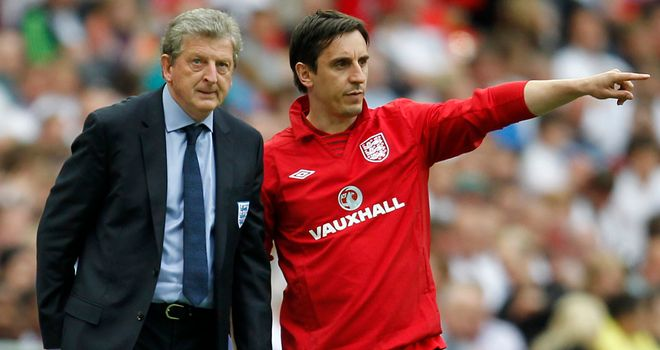 Gary Neville: Enjoying his new role but says it has been difficult emotionally