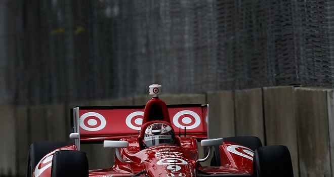Scott Dixon: Will start the Belle Isle Grand Prix on pole position