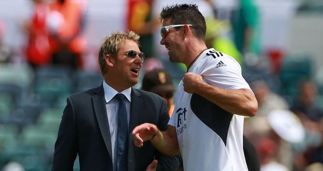 Shane Warne: Has hailed match-winner Kevin Pietersen