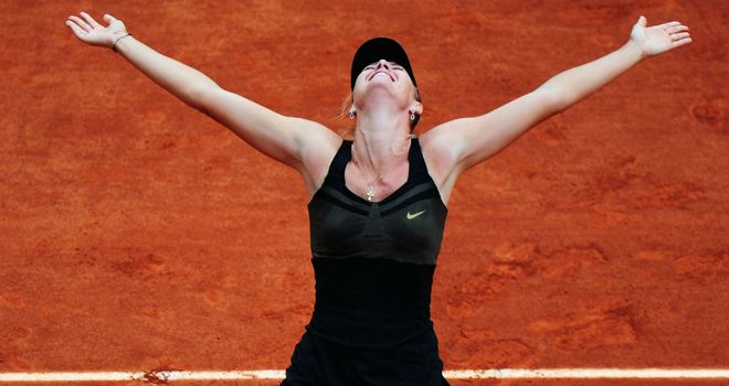 Maria Sharapova: A 'special' moment for the newly crowned No.1