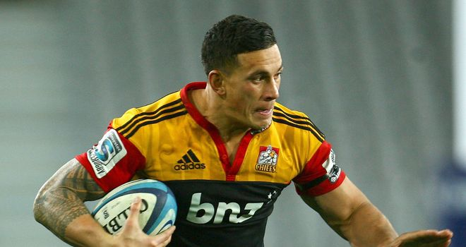 Sonny Bill Williams: Poised to move to Japan