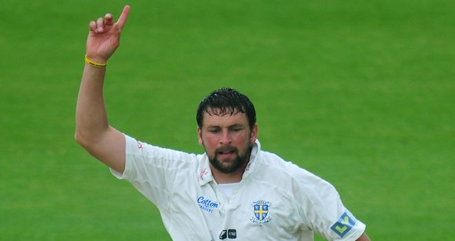 Steve Harmison: Joined Yorkshire from Durham on an initial month's loan