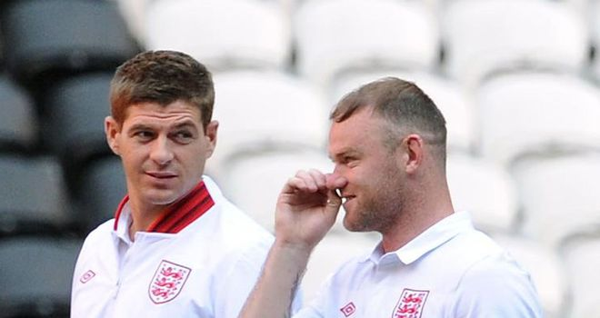 Steven Gerrard: England captain can see Wayne Rooney is ready to perform at Euro 2012