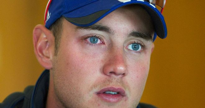 Stuart Broad: Nine matches as captain