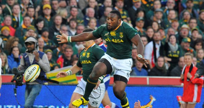 Tendai Mtawarira: South Africa prop to return home from tour of Europe