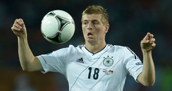 Toni Kroos: Keen for bigger role at Euro 2012