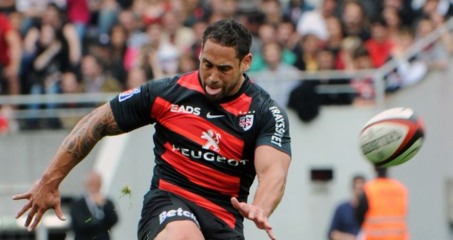 Luke McAlister: Scored 17 points for Toulouse against Montpellier