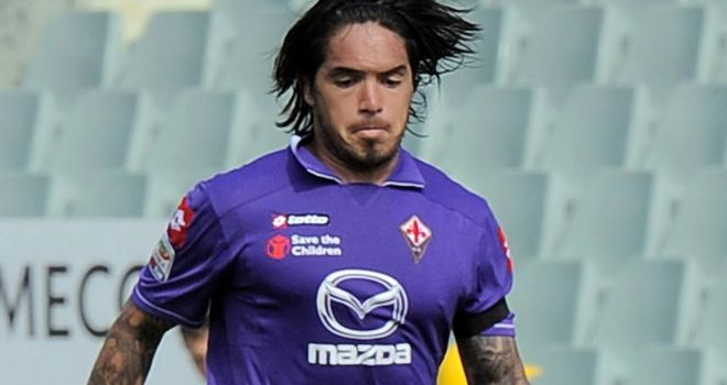 Juan Manuel Vargas: Poised to join Genoa from Fiorentina