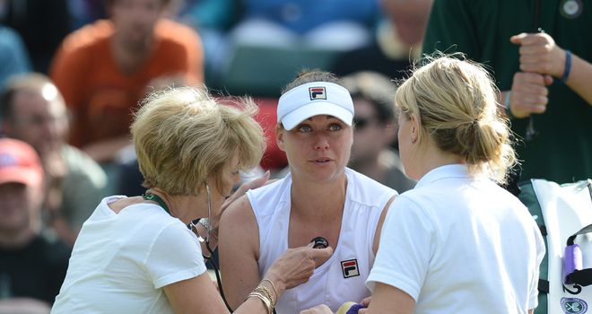 Vera Zvonareva: Another setback