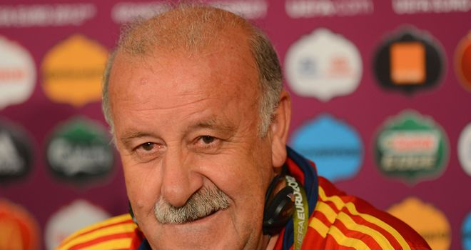 Vicente Del Bosque: Ready to use his squad
